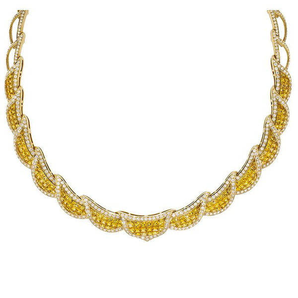 Coronation | Yellow Sapphire Necklace