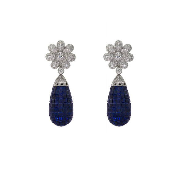 Hypnotic |  Sapphire Earrings
