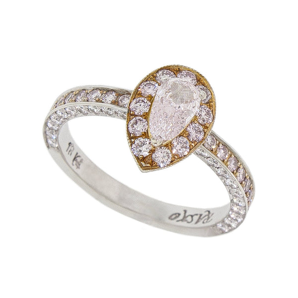 Hearts Desire | Colored  Pear Yellow Diamond Ring
