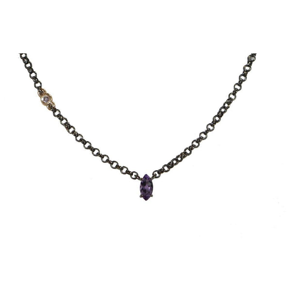 Chroma |  Amethyst Necklace