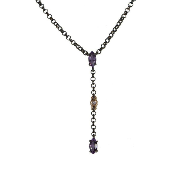 Chromatic |  Amethyst Necklace