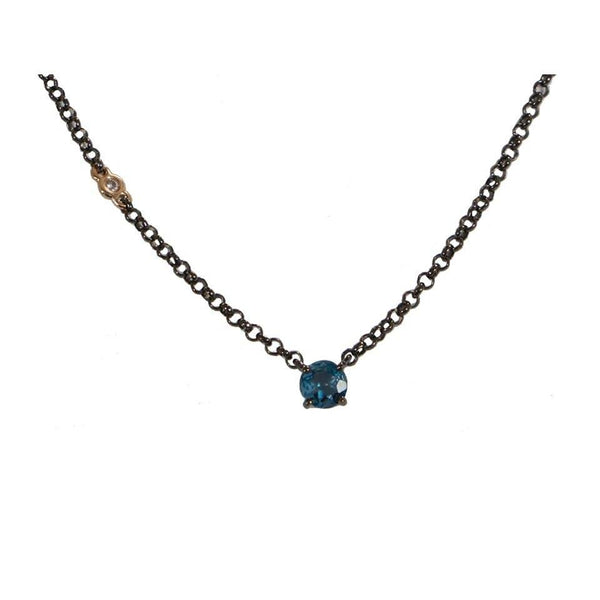 Azura | London Blue Topaz Necklace