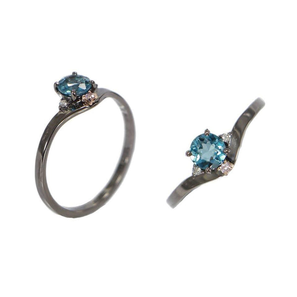 Callisto | London Blue Topaz Ring