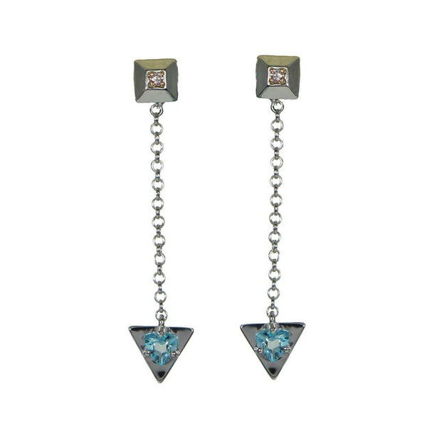 Fay | London Blue Topaz Earrings