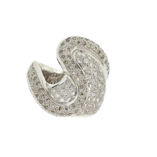 Swan |  Diamond Ring