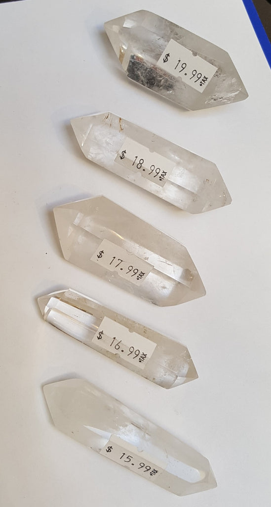 Quartz - double terminated