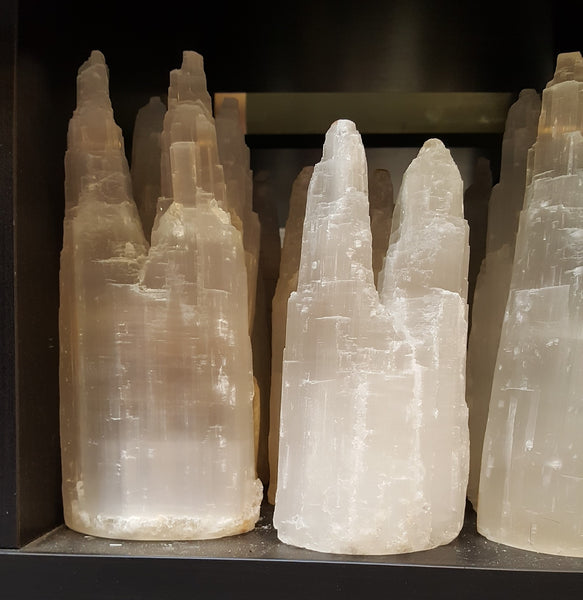Selenite - double tower