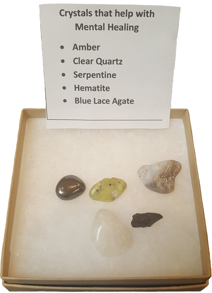 Crystal Set for Mental Healing