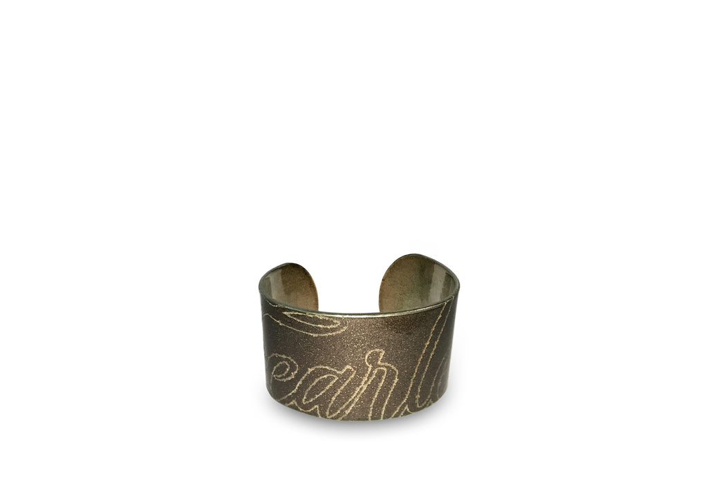 LIMITED EDITION FEARLESS METAL CUFF- Brown
