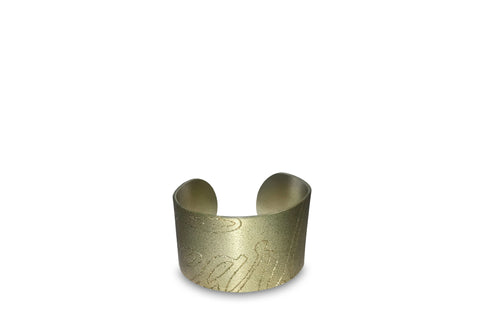 LIMITED EDITION FEARLESS METAL CUFF- Champagne Silver
