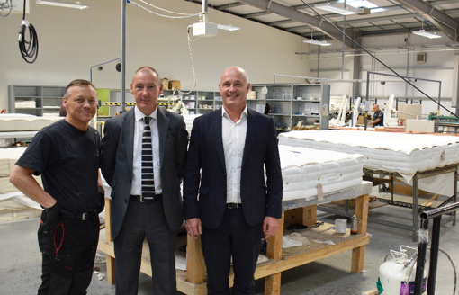 Apache North Sea Partners with Glencraft to Create New Offshore Luxury Mattress for its Beryl and Forties Platforms