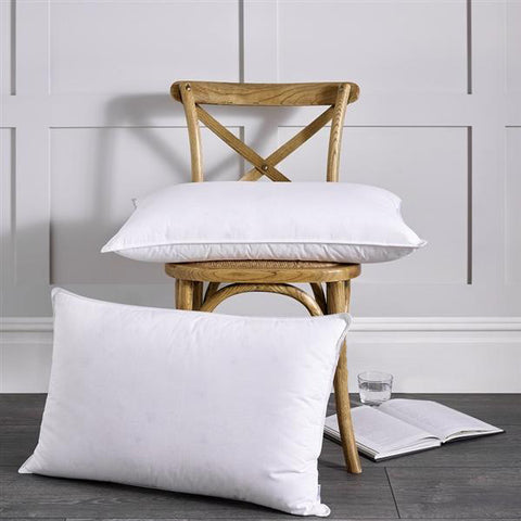 European Duck Down Pillow Pillow - pewterchessset.com Mattresses