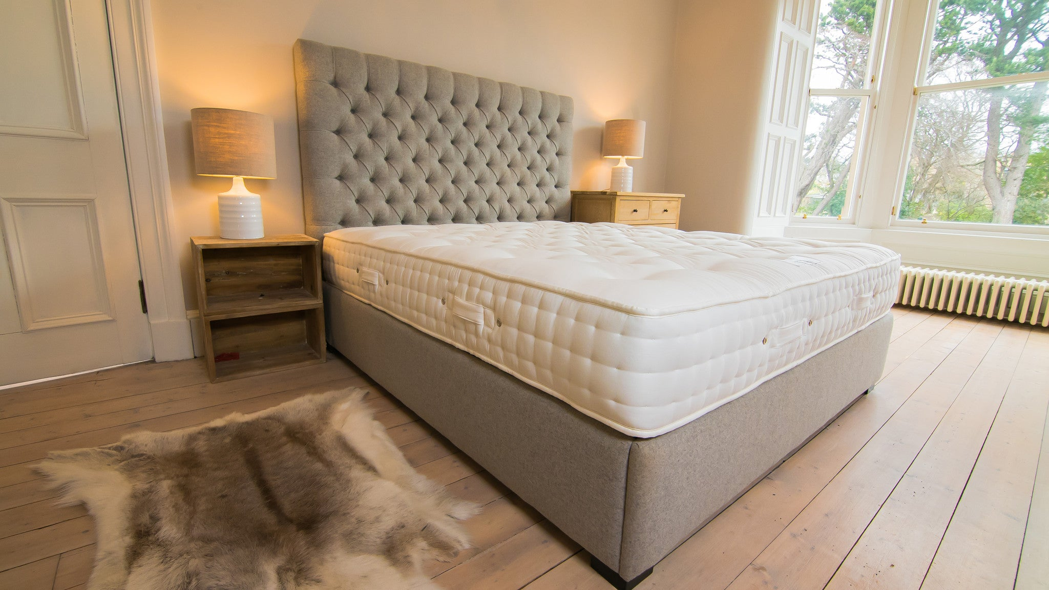 The Monarch Mattress 3000 Pocket Springs Amp Natural Layers Glencraft Luxury