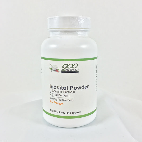 Inositol Powder B-Complex Factor in Crystalline Form / 4 oz (113 gm)