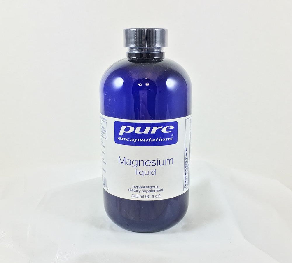 Magnesium Liquid 240 ml (8.1 fl oz)