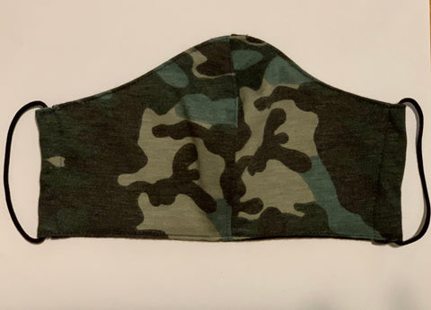 Camo Reversible Face Mask (Adults)