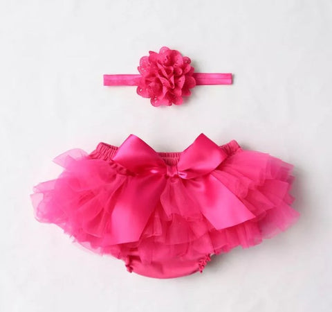Hot Pink Bloomer Set