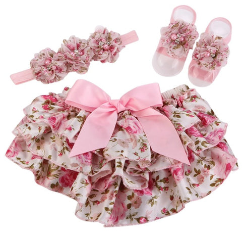 Shabby Chic Bloomer Set