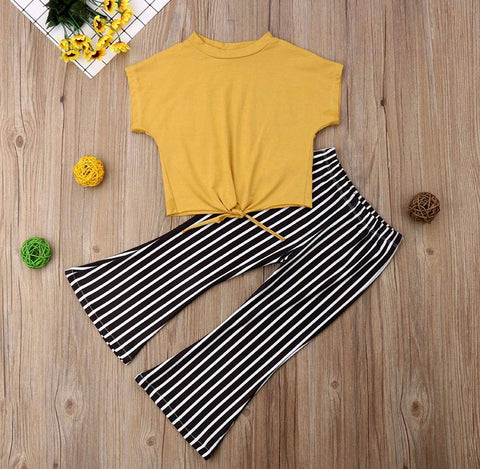 Yellow Stripe Set