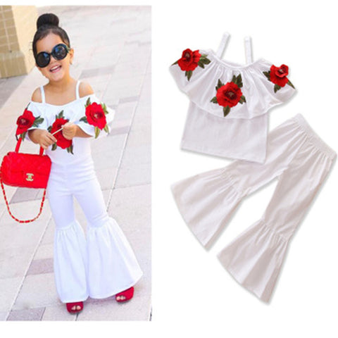 Red Rose Boho Set