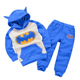 Bat Man Sweatshirt Set