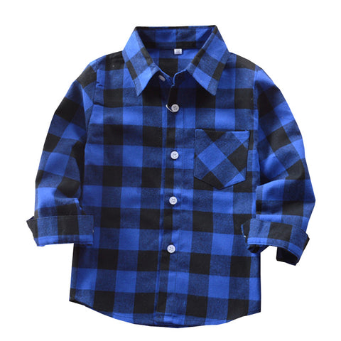 Blue & Black Flannel