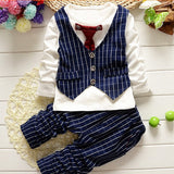 Lil Guy's 2-Piece Pinstripe Suit Set