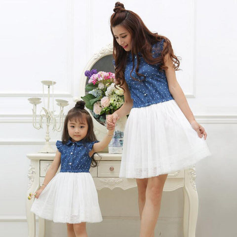 Mommy & Me Denim Mini