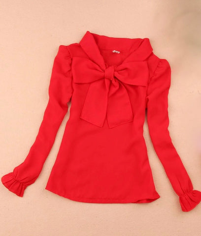 Red Bow Top