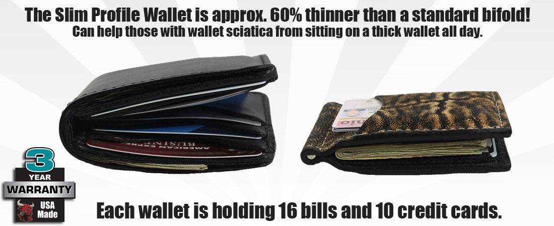 Slim Profile Wallets