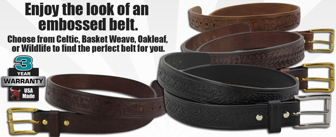 Embossed Belts