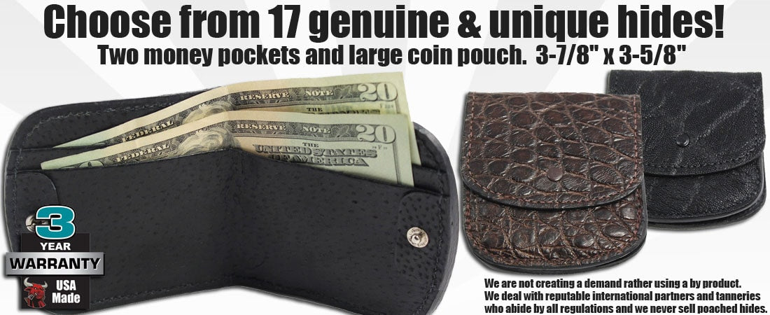 Horseshoe Bifold Wallets