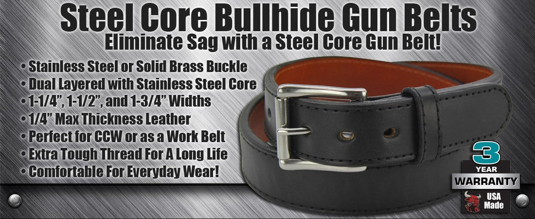 Steel Core Gun Belts