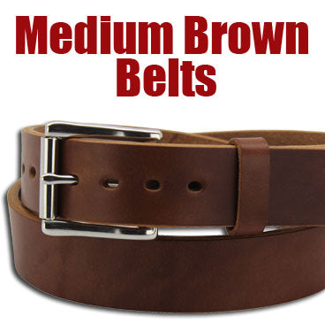 Medium Brown Belts