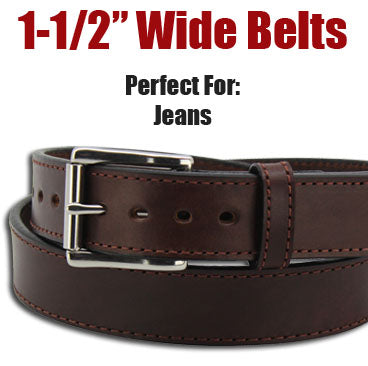 "1-1/2"" Wide Belts"