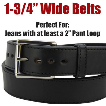 "1-3/4"" Wide Belts"