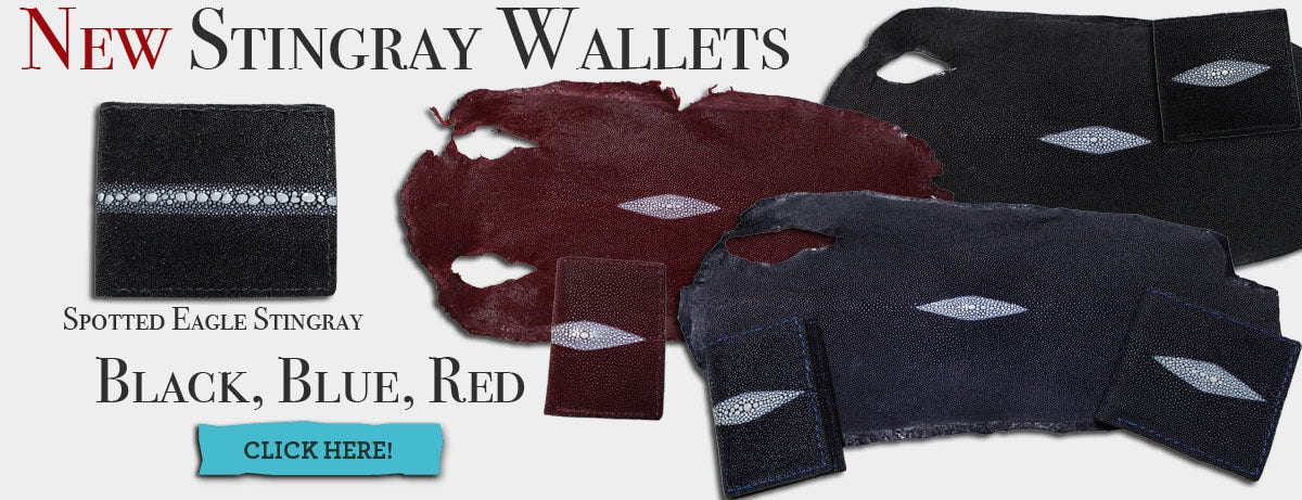 New Stingray Wallets