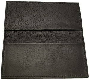 Bullhide Belts Black Hippopotamus Checkbook Cover