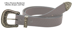 "Bullhide Belts Western 3 Piece Buckle Set (1-1/2"" Wide)"