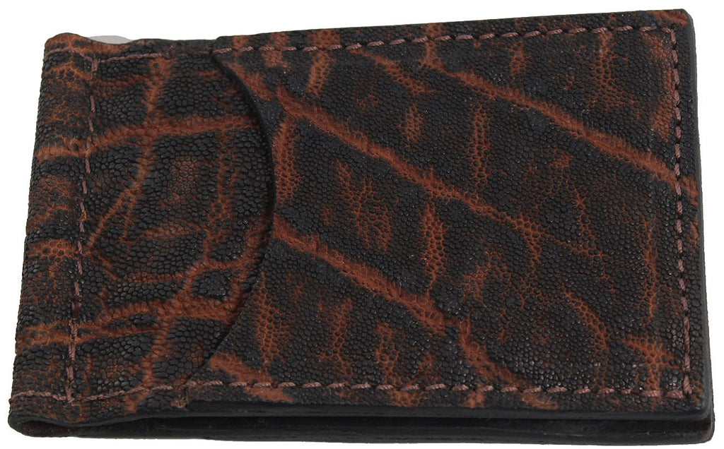 Bullhide Belts Dragon Fire Elephant Bifold Slim Profile Wallet With Money Clip