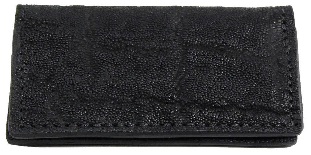 Bullhide Belts Black Elephant Checkbook Cover