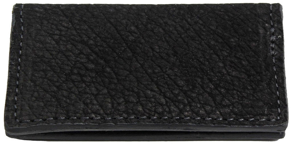 Bullhide Belts Genuine Black Hippopotamus Checkbook Cover
