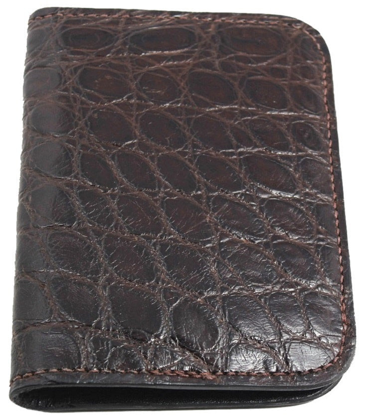 Bullhide Belts Genuine Brown Alligator Passport Wallet