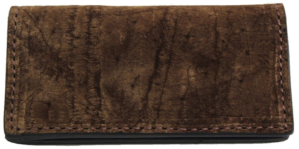 Bullhide Belts Brown Hippopotamus Checkbook Cover