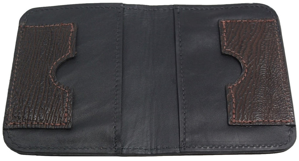 Bullhide Belts Brown Shark Passport Wallet
