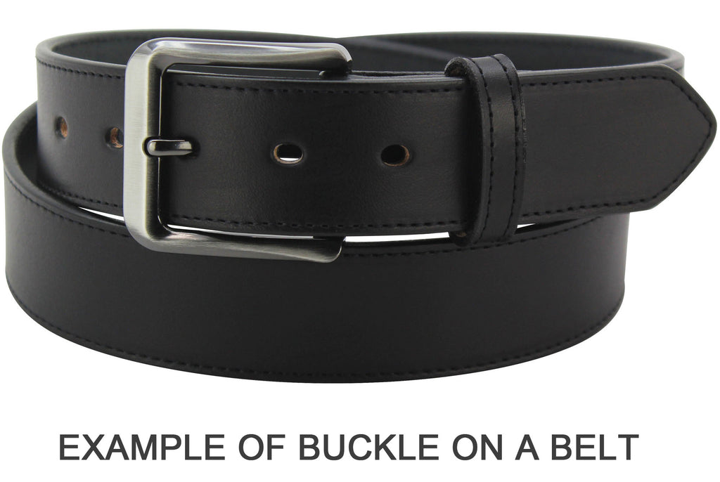 Bullhide Belts Gun Metal Dress Buckle