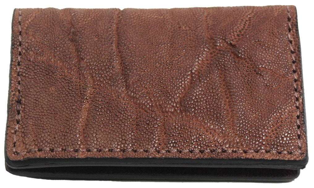 Bullhide Belts Genuine Caramel Brown Elephant Credit Card Wallet