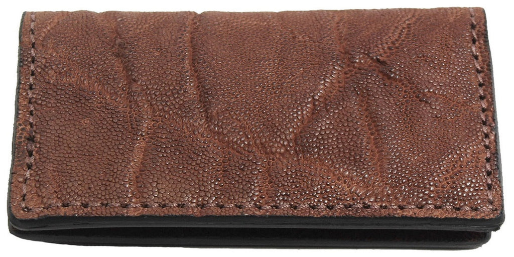 Bullhide Belts Genuine Caramel Brown Elephant Checkbook Cover