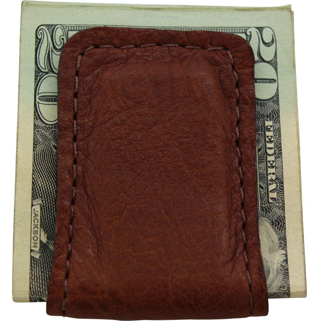 Brown American Bison Cash Clip