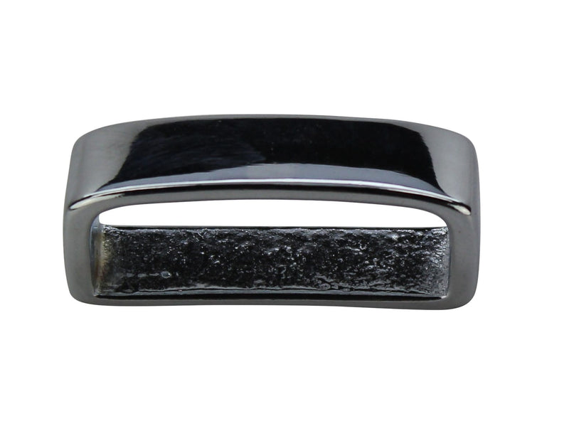 Bullhide Belts Polished Chrome Keeper (Loop)